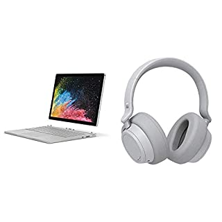 "Microsoft 13.5"" Surface Book 2 (Intel Core i7, 16GB Ram, 1TB) - HNN-00001 + Surface Headphones (B07QCDBF9V) 