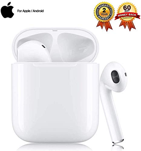 Bluetooth-Kopfhörer,In-Ear Kabellose Kopfhörerr,IPX5 Wasserdicht, Noise-Cancelling-Kopfhörer für immersiven Klang,mit 24H Ladekästchen und Mikrofon für Android/iPhone/Samsung
