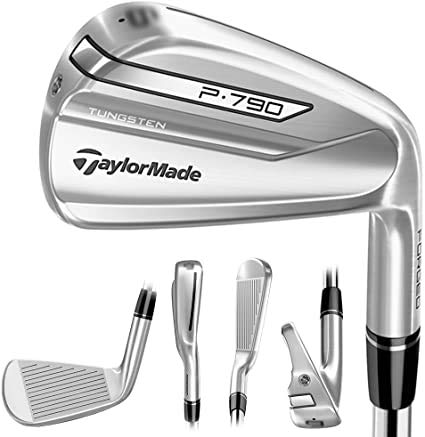 Taylormade P790 Iron Set 6-PW with P770 Approach Wedge, Steel Dynamic Gold OXYX Stiff Shafts, Right