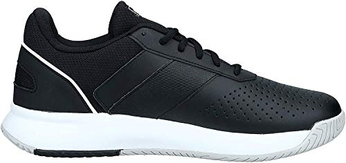 adidas COURTSMASH, Scarpe da Tennis Uomo, Core Black/Ftwr White/Grey Two f17, 42 EU