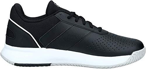 adidas Herren Courtsmash Tennisschuhe, Mehrfarbig (Negbás/Ftwbla/Gridos 000), 43 1/3 EU
