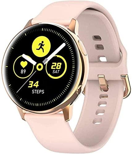 Reloj inteligente HD de pantalla grande con reloj inteligente de carga inalámbrica compatible con iPhone Samsung y teléfonos Android-C-A