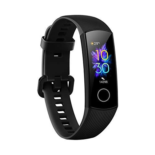 Honor Band 5 Reloj Inteligente 0.95 Pulgadas AMOLED Bluetooth 4.2 5ATM Impermeable (Negro)