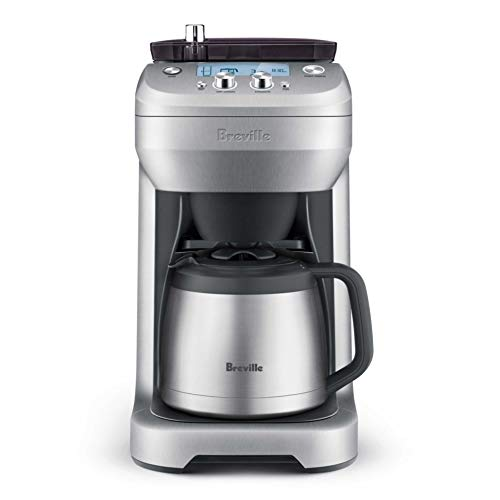 Breville the Grind Control BDC650BSS Coffee Maker w/Built-In Adjustable Burr Grinder - Stainless...