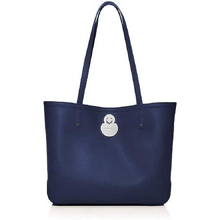Amazon.com: Longchamp 'Cavalcade' Leather Shoulder Tote Bag, Black ...