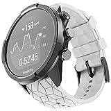 ANCOOL Compatible avec Suunto 9 Baro/Suunto Spartan Bracelet de rechange en silicone souple pour montre connectée Suunto GPS