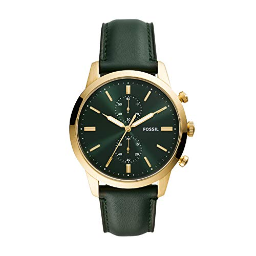 Fossil Townsman - FS5599 Gold/Green One Size