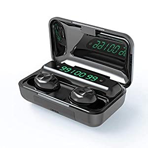 Wireless Earbuds, BD&M Bluetooth 5.0 Earbuds, Bass Stereo HiFi Sound TWS Waterproof Sport Headphones in Ear Earbuds with Battery Charging Case Touch Control