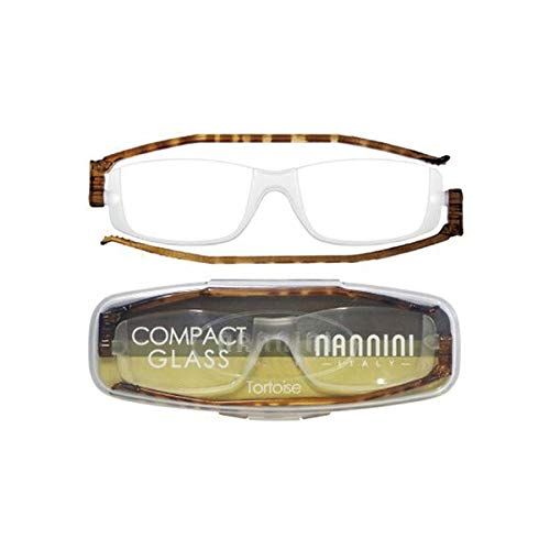 老眼鏡 コンパクトグラス2 nannini リーディンググラス 男性用 女性用 メンズ レディース シニアグラス 全12色(+3.00,トートス)