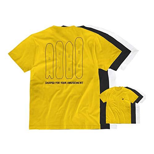 K2 Snowboard Unisex– Erwachsene ENJOYERS Tee Black T-Shirt, 20D2401.1.2.XL