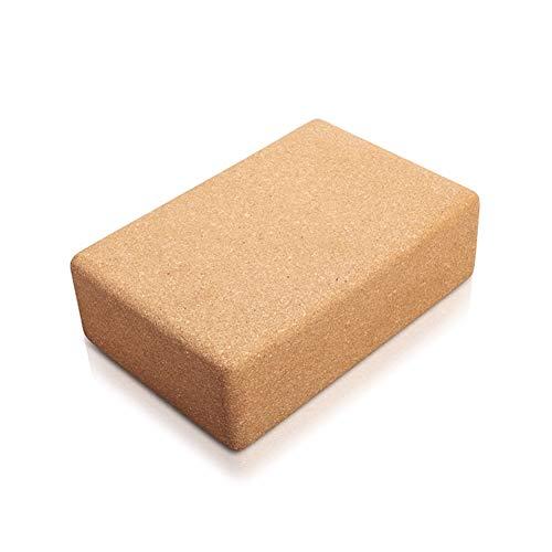 JGSDHIEU yoga-baksteen van kurk voor yoga met hoge dichtheid
