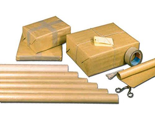 Packpapier 75x100cm 90g Natronmischung 2er Bogen