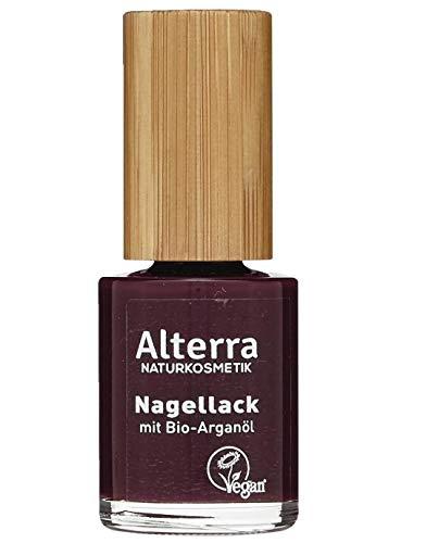 Alterra Nagellack 05 Burgundy 11 ml Farbe: 05 Burgundy, mit Bio-Arganöl