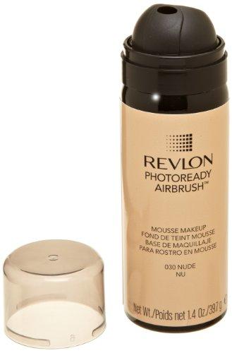 REVLON Photoready Airbrush Mousse Makeup, Nude, 1.4 Ounce by Revlon