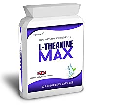90 Theanine 200mg Capsules 98% L-Theanine Max from Green Tea