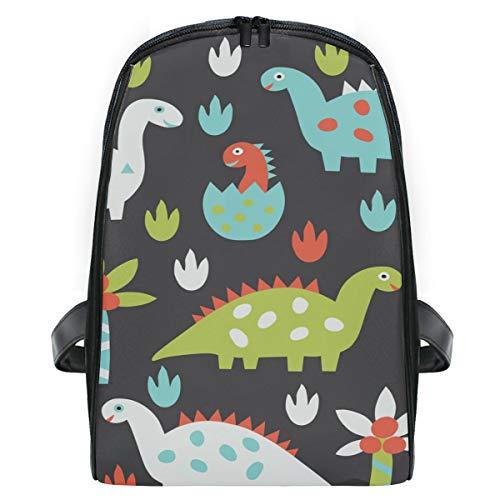ISAOA Dinosaurier-Zeichentrick-Tasche, niedlicher Kinder-Rucksack, leicht, langlebig, Tagesrucksack, Reisetasche, Kleinkinder, Schultasche für Kindergarten, Vorschulalter 2–7 Jahre