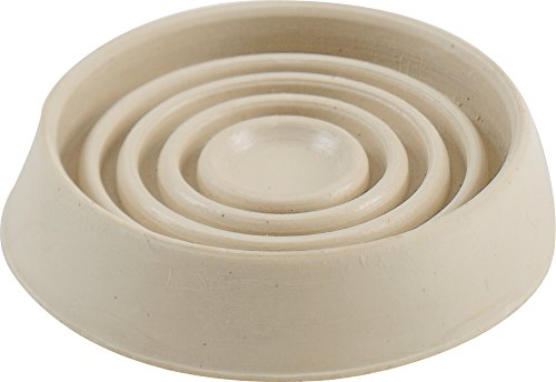 Shepherd Hardware 9167 1-3/4-Inch Round Rubber Furniture Cups, 4-Pack
