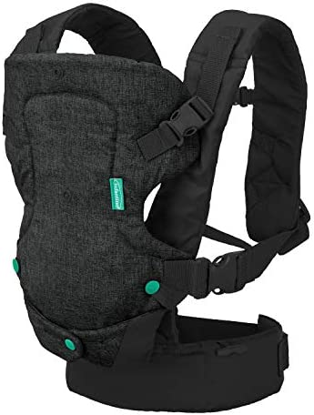Infantino Flip 4 in 1 Carrier Ergonomic Convertible face in and face Out Front and Back Carry product image