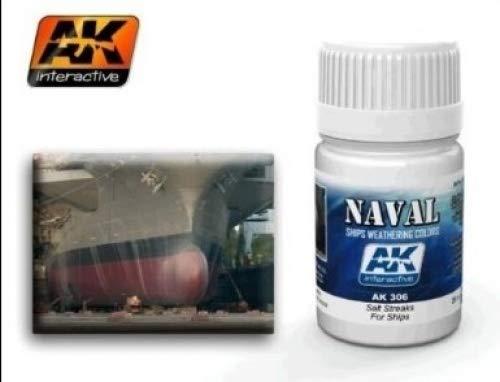 (AK00306) - AK Interactive Wash 35ml - Salt Streaks for Ships