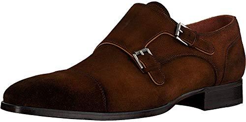 Greve Herren Magnum 4453 Business Schuhe, Braun, 43 EU