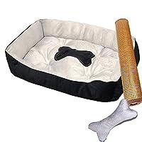 ペットベッド 冬用 夏用 可愛い 犬ベッド L 洗える 猫ベッド おしゃれ ふわふわ あったか 犬小屋 ペット ベッド 猫 犬ベッド ペットハウス 犬 室内用 ねこベット もこもこ ふんわり 四季通用 カラー 耐噛み ペットマット