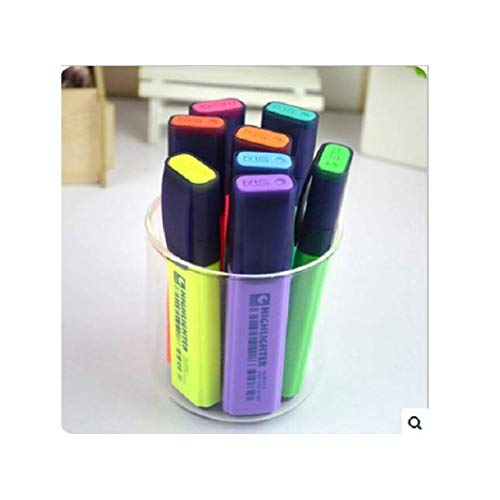 HityTech 8 Pack Markers Highlighters Praticle Writer Pens, Office & School Supplies, Set of 8