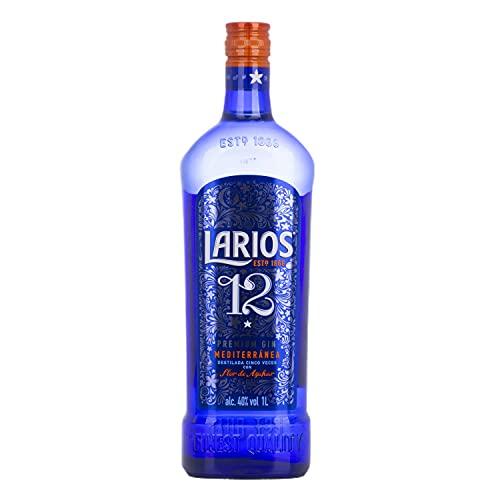 Larios 12 Premium Gin Mediterránea 40% - 1000ml