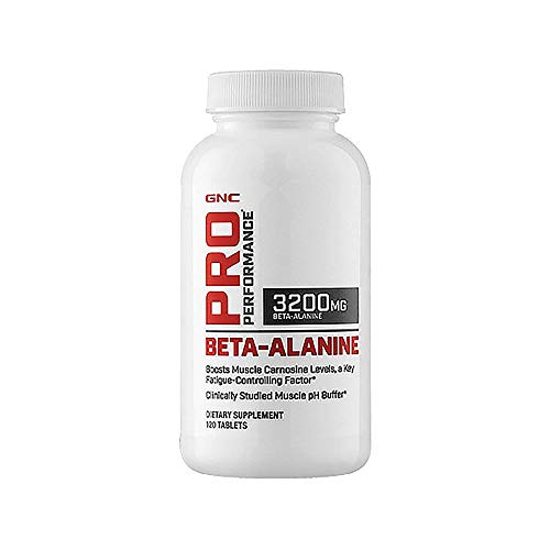 GNC Pro Performance Beta-Alanine, 120 Tablets, Supports Muscle Function