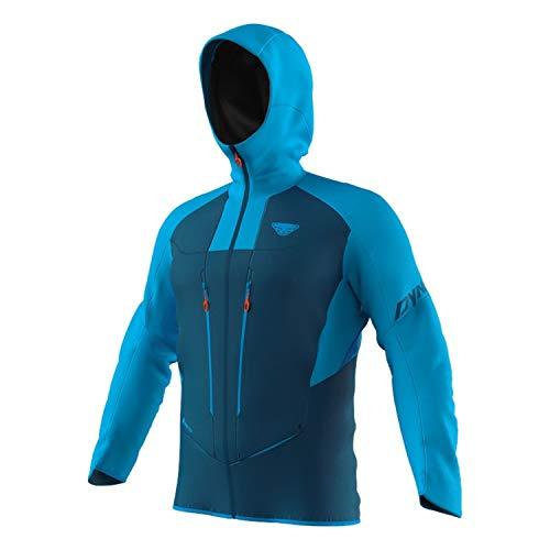 DYNAFIT M TLT Gore-Tex Jacket Colorblock-Blau, Herren Gore-Tex Windbreaker, Größe XL - Farbe Frost