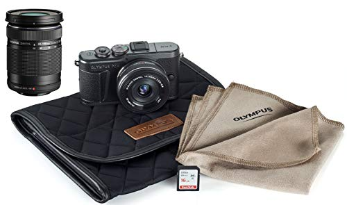 Olympus Pen E-PL10 Mirrorless Digital Camera with...