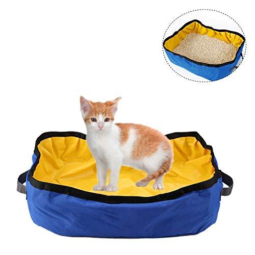 Caja arena gatos Arenero plegable portátil gatos