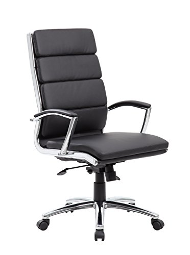 Boss Office Products CaressoftPlus Executive Chair, Traditional,...