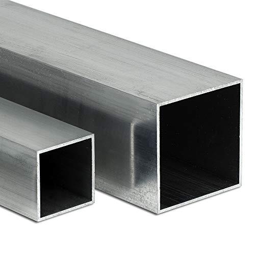 Aluminium Vierkantrohr AW-6060-40x40x4mm | L: 2000mm (200cm) auf Zuschnitt