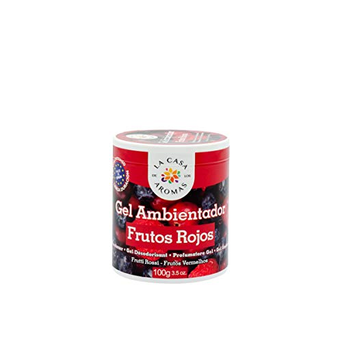 lacasadelosaromas Bote Ambientador Gel Aroma (Frutos Rojos)