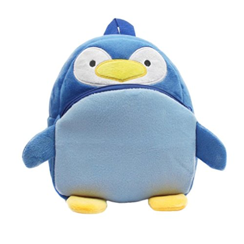 Winkey Rucksack für Kinder/ Baby, Mädchen und Jungen, niedlich, Schultasche, Umhängetasche Penguin 20x24cm wide 20cm x height 24cm