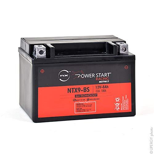 NX - Batterie Moto NTX9-BS / YTX9-BS 12V 8Ah