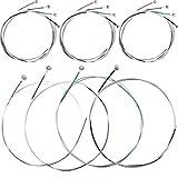 Nuluxi Juego de Cuerdas de Violín Duradero Conjunto de Piezas de Cuerdas para Violín Cue...