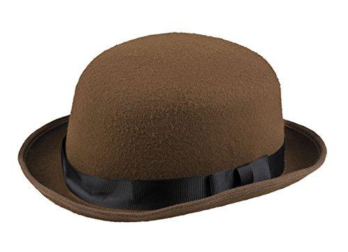 Boland 04202 Hut Steambowler, Schwarz, One Size