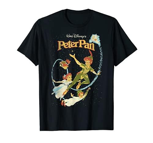 Disney Peter Pan Darling Flight Vintage Graphic T-Shirt T-Shirt