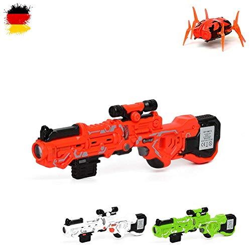 HSP Himoto Mini Laser Tag Maschinengewehr mit Alien-Käfer Bug, Battle Infrarot Laser Gun, Laserpistolen,...