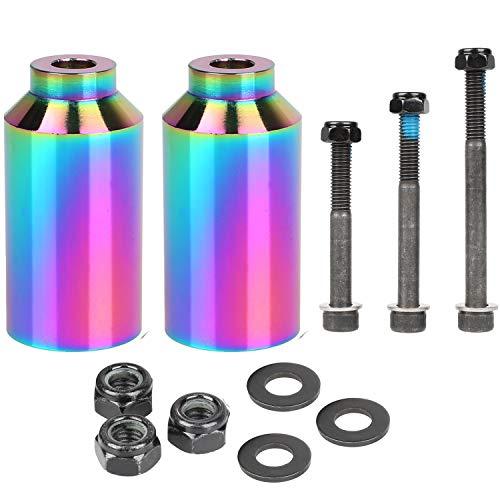 Kutrick Neo Pro Tretroller-Pegs Set mit Achsen-Hardware 6,3 cm, 7,6 cm, 8,9 cm für Freestyle-Scooter Grinds, Neo