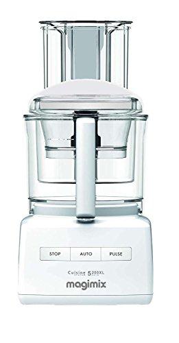 MAGIMIX Robot De Cocina Compact 5200 Xl Plata/Blanco