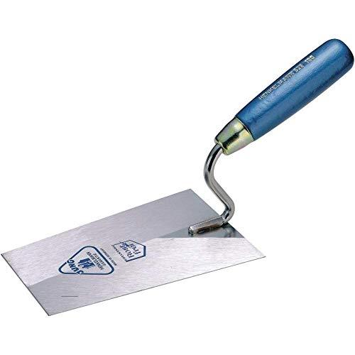 Jung 52616000 Truelle de maçon avec S-Cou, Gris/Bleu, 160 mm