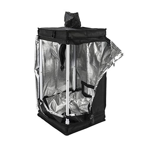Cultivalley Growzelt 30x30x60cm 98% Reflexionsgrad Lichtdicht und Wasserdicht