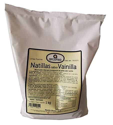 Natillas Sabor Vainilla - Arconsa - 1 kg