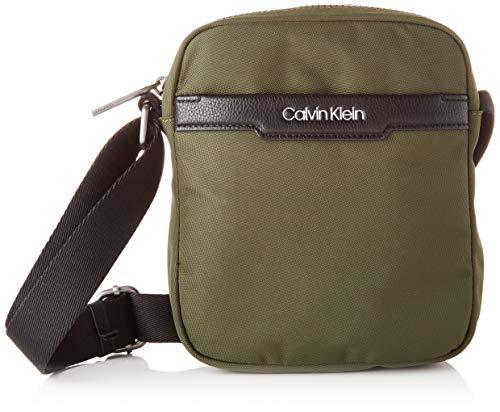 Calvin Klein, Reportero para Hombre, verde oliva oscuro, One Size