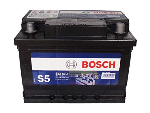 Bateria Bosch 60Ah - S5X60D / S5X60E - 18 Meses Garantia Polaridade Positivo Direito