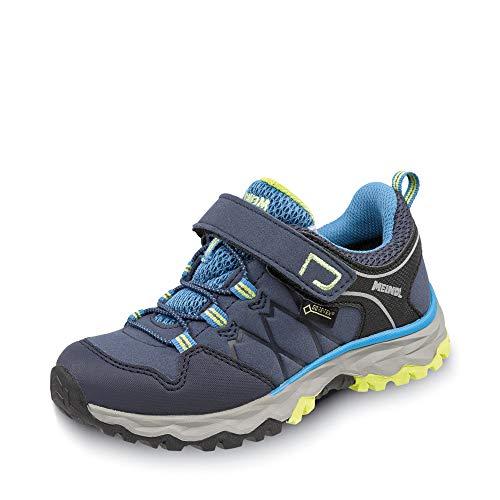 Meindl Chaussures de randonnée multifonction Medoro GTX pour enfant. - Bleu - bleu, 28 EU