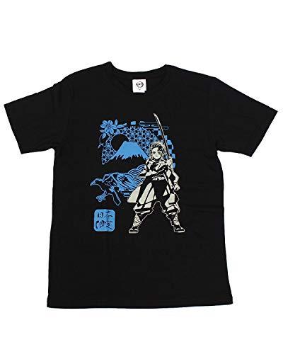 [トップイズム] 鬼滅の刃 ボトルTシャツ メンズ 半袖 Tシャツ 炭治郎 きめつのやいば 漫画 アニメ キャラクター グッズ 6-ブラック日本限定ボトル Mサイズ