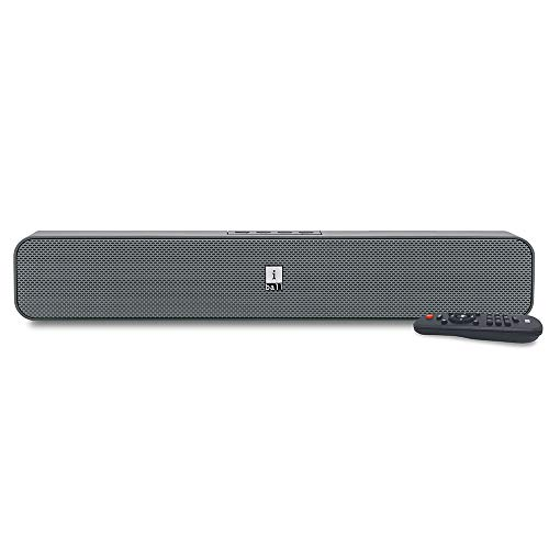iBall Musi Bar High Power Compact Soundbar with Multiple Playback Options, Grey